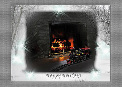 Photograph - Happy Holidays by Gerlinde Keating - Galleria GK Keating Associates Inc