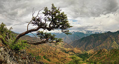 Photograph - Hells Canyon Panoramic by Leland D Howard