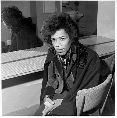 Photograph - Hendrix In England by Michael Ochs Archives