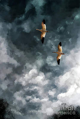 Digital Art - High Flyin by Lois Bryan