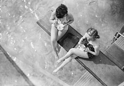Photograph - High Tea by J. A. Hampton