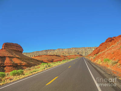 Photograph - Highway In Bighorn Canyon by Benny Marty