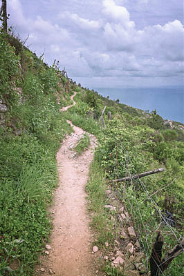 Wall Art - Photograph - Hiking To Portovenere Cinque Terre Italy II by Joan Carroll