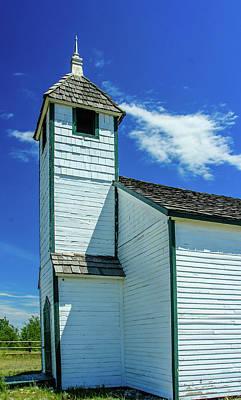 Photograph - Historic Mcdougall Church, Morley, Alberta, Canada by David Butler