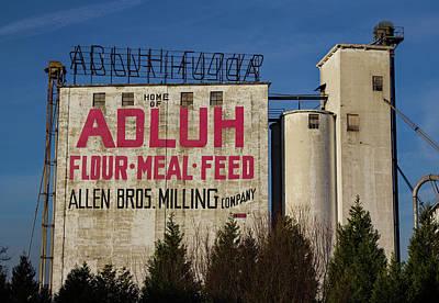 Photograph - Home Of Adluh Flour by Joseph C Hinson Photography