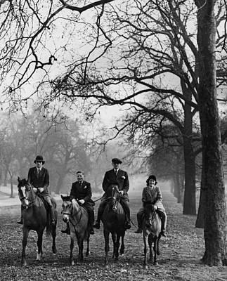 Hyde Park Wall Art - Photograph - Horse Riding by Derek Berwin