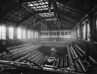 House Of Commons Art Print by London Stereoscopic Company