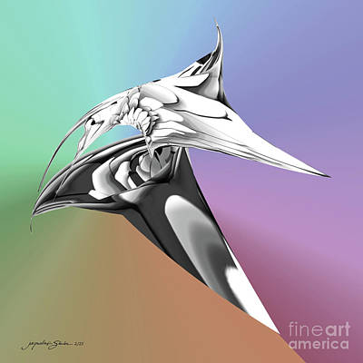 Digital Art - Hummingbird by Jacqueline Shuler