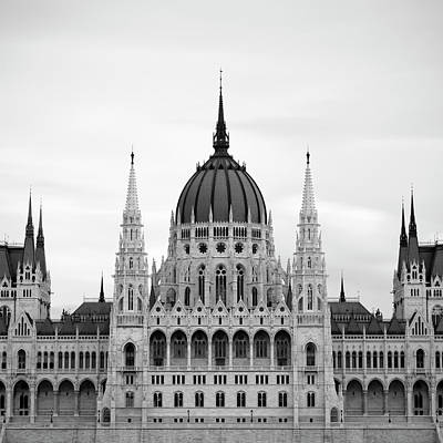 Photograph - Hungarian Parliament Building by Alex Holland