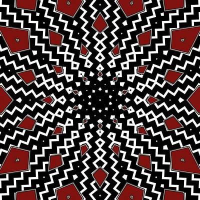 Digital Art - Hyperspace Kaleidoscope by Cindy Boyd