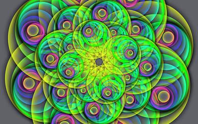 Digital Art - Hypnosis by Vitaly Mishurovsky