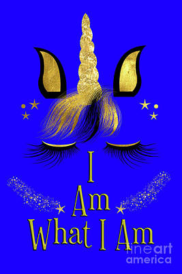 Digital Art -  I Am What I Am by Toula Mavridou-Messer