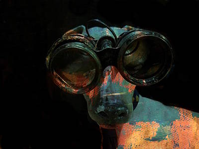 Portraits Digital Art - I Can See For Miles  by Paul Lovering