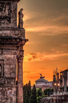 Erik Brede Rights Managed Images - Illuminati Rome Royalty-Free Image by Erik Brede