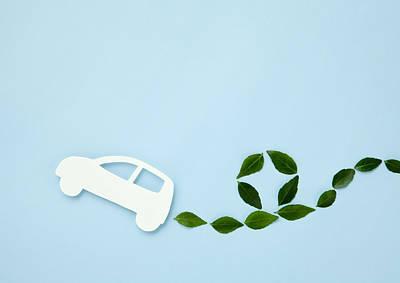 Image Of Eco Car Art Print by Imagenavi