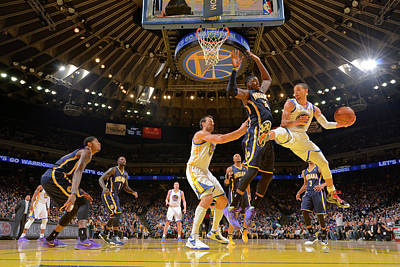 Photograph - Indiana Pacers V Golden State Warriors by Rocky Widner