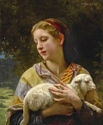 Painting - Innocence by William-Adolphe Bouguereau