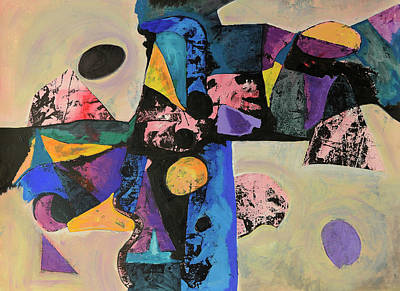 Painting - Intense Thrust by Mark Jordan