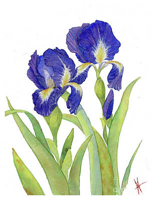 Painting - Irises by Michelle T Williams