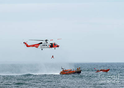 Photograph - Irish Coast Guard by Jim Orr