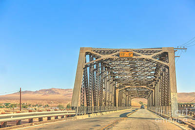 Photograph - Iron Bridge Barstow by Benny Marty