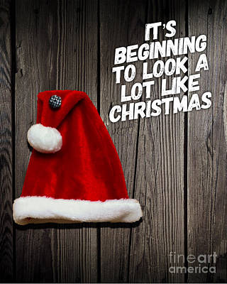Digital Art Royalty Free Images - Its Beginning to Look a Lot Like Christmas Royalty-Free Image by Esoterica Art Agency
