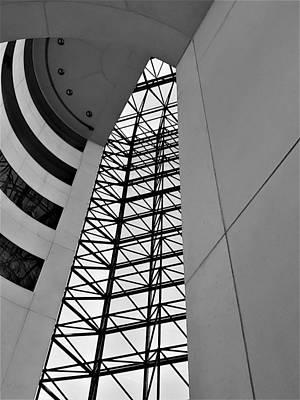 Photograph - J F K Skylight 9 by Rob Hans