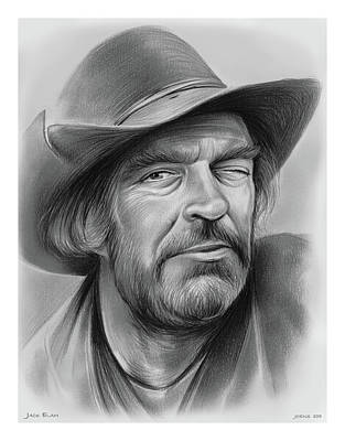 Drawings Rights Managed Images - Jack Elam Royalty-Free Image by Greg Joens