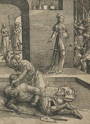 Relief - Jael Killing Sisera by Lucas van Leyden