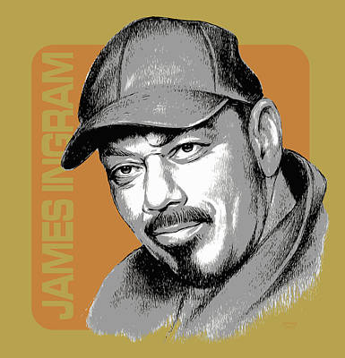 Musicians Royalty Free Images - James Ingram Royalty-Free Image by Greg Joens