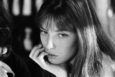 Jane Birkin Art Print by Keystone