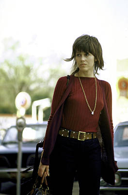 Photograph - Jane Fonda by Bill Ray