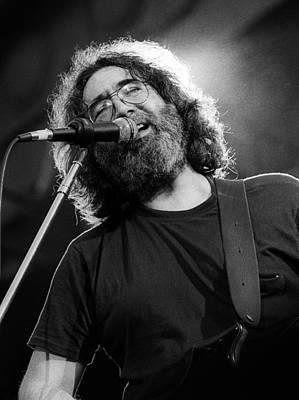 Photograph - Jerry Garcia - Grateful Dead Live by Ed Perlstein