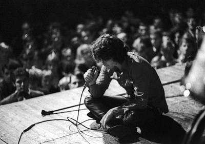 Performance Photograph - Jim Morrison by Michael Ochs Archives