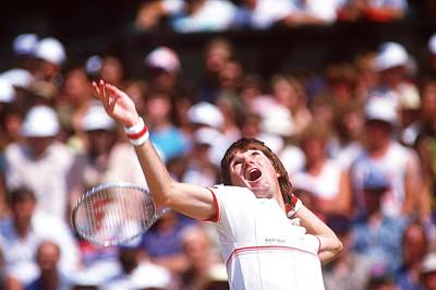 Photograph - Jimmy Connors by Getty Images