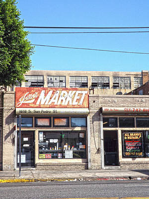 Photograph - Joe's Market by Hold Still Photography