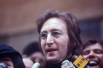 Photograph - John Lennon by Art Zelin