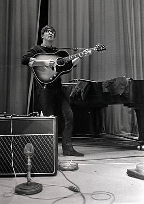 Beatles Photograph - John Lennon Of The Beatles Pop Group by Popperfoto
