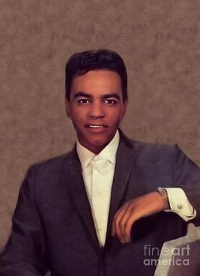 Jazz Royalty-Free and Rights-Managed Images - Johnny Mathis, Music Legend by John Springfield