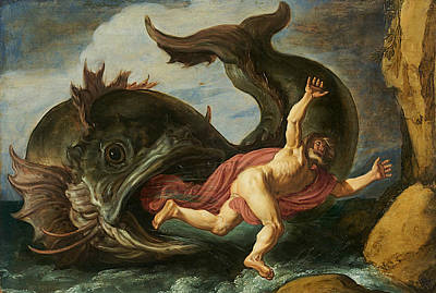 Painting - Jonah And The Whale by Pieter Lastman