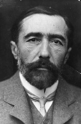 Joseph Conrad Art Print by George C. Beresford