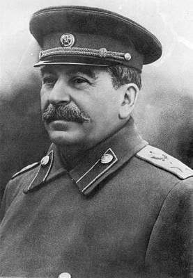 Photograph - Joseph Stalin by Keystone
