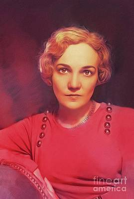 Royalty-Free and Rights-Managed Images - Katharine Anne Porter, Literary Legend by Esoterica Art Agency