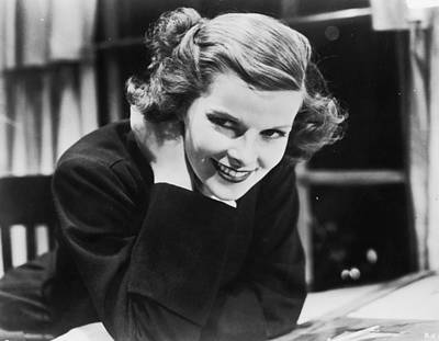 Photograph - Katharine Hepburn by Hulton Archive