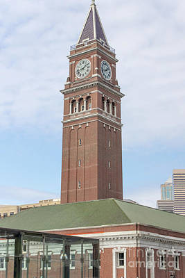 Photograph - King Street Station Clock Tower Seattle Washington R1417 by Wingsdomain Art and Photography