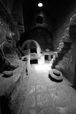 Photograph - Kitchen At Santa Catalina Monastery by Aidan Moran