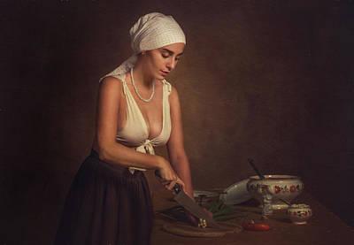 Photograph - Kitchen by Evgeny Loza