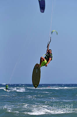 Photograph - Kite Surfing On A Windy Day I by George Atsametakis
