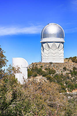 Photograph - Kitt Peak Observatory Az by Chris Smith