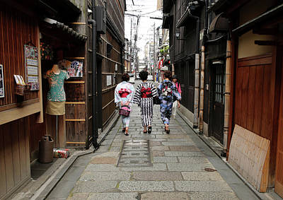 Photograph - Kyoto Ranked Worlds Best City By U.s by Buddhika Weerasinghe